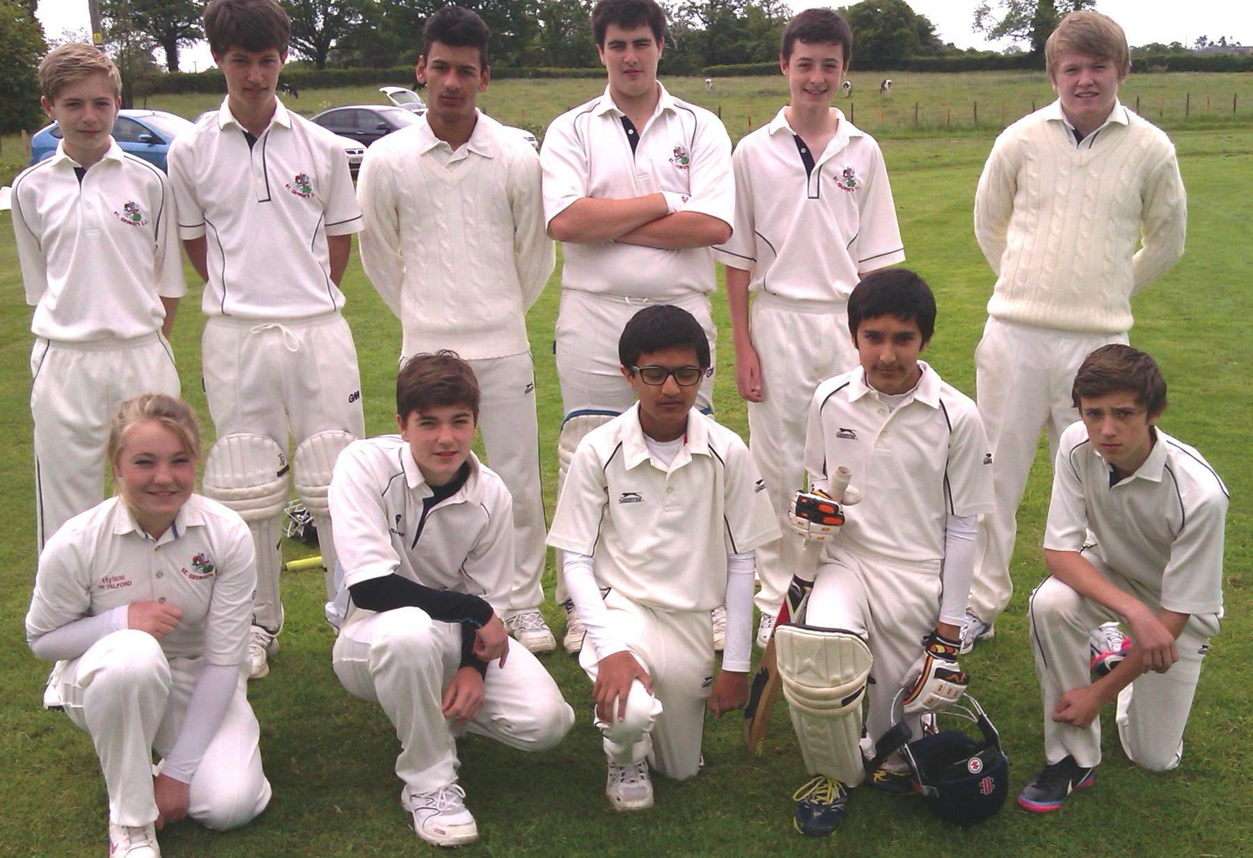 U15 team June 2013