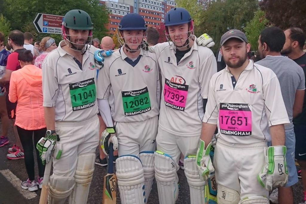 Neil Davies, Ben Byram, Matt Chesters, Chris Jones